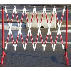Mobilní roztahovací zábrana - reflexní