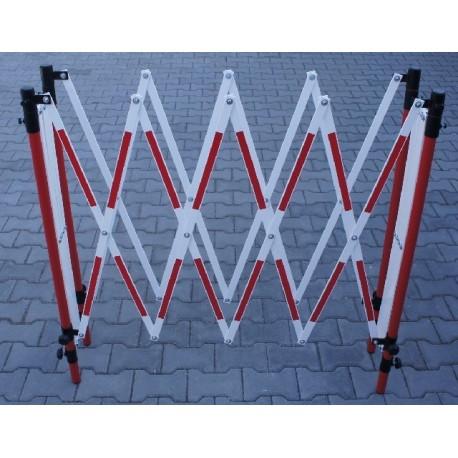 Mobilní roztahovací zábrana RX4 - reflexní